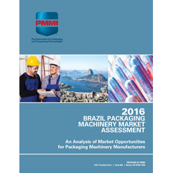 Brazil Packaging Machinery Competitive Intelligence Report Update 2016