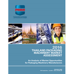 Thailand Packaging Machinery Market Assessment 2016