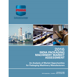 India Packaging Machinery Market Assessment 2016