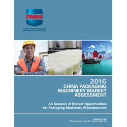 China Packaging Machinery Market Assessment 2016