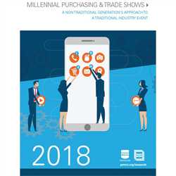 Millennial Purchasing and Trade Shows 2018