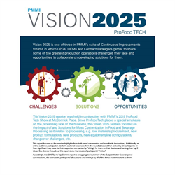 2019 Vision 2025 ProFood Tech