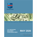 May 2020 Packaging Machinery Purchasing Index