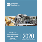 CPG Safety Requirements for Plant and Office Access QS 2020