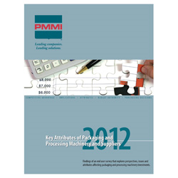 Key Attributes of Packaging and Processing Machinery and Suppliers Report 2012